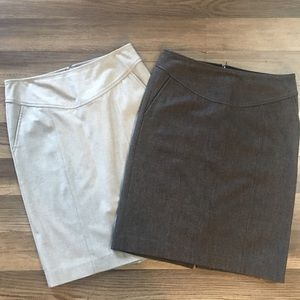 Banana Republic size 2 skirt bundle